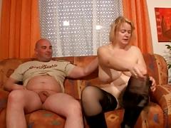 Немецкое порно с большой бабенкой в сапогах порно порно