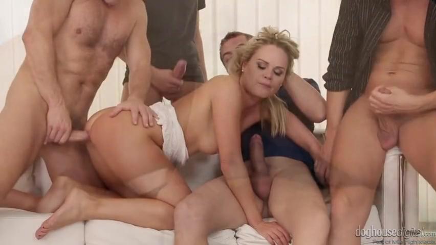 Бесстыдница Барра Брасс (Barra Brass) много членов всеми дырками радовала порно порно