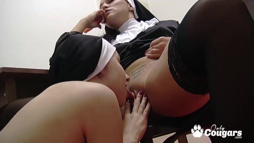 Порно с девушками в виде монашек смотреть видео в онлайн бесплатно