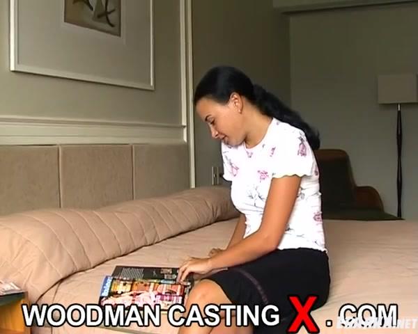 Кастинг Вудмана. Мэгги (Мария) порно