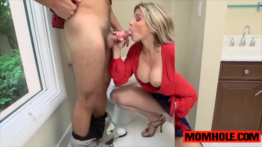 Cory Chase Gets Bent Over And Fucked In The Bathroom Xhamster Com 1