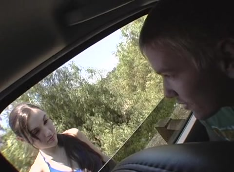 По дороге сняли телочку и поимели е в попу порно